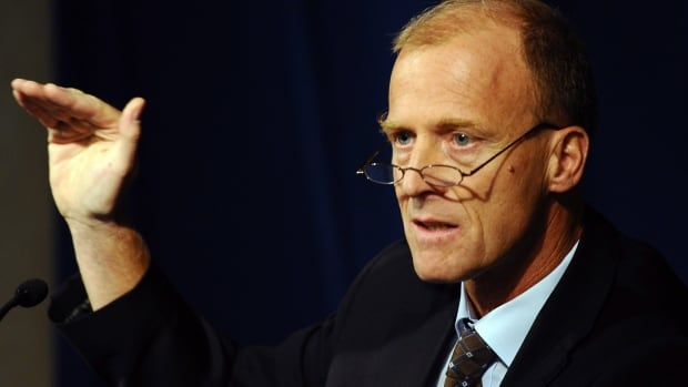 Tom Enders, CEO of the European Defence and Space Company, announced 5,800 layoffs speaks during a press conference in Paris.