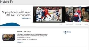 Bell-Mobile TV