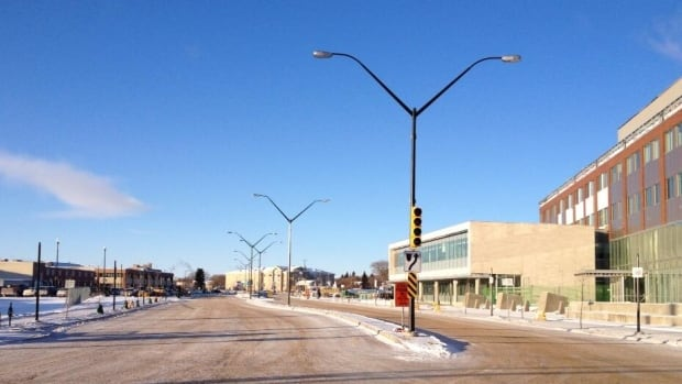 The 25th Street extension opens today.