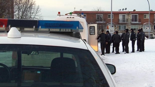 Police searched overnight and into this morning for the girl who was last seen as she was dropped off by the school bus in front of her Old Longueuil home.