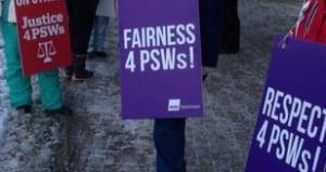 personal support worker strike sudbury