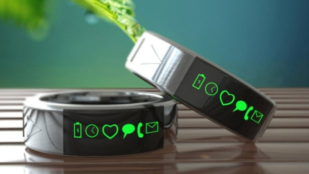 The Smarty Rings project, based in Chennai india, promises waterproof, stainless steel rings that will connect wirelessly to your smartphone. The Smarty Ring team doesn't yet have a prototype, and says its images are Photoshopped.