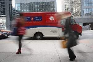 Canada Post parcel service