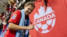 Christine Sinclair poised to play 200th game for Canada