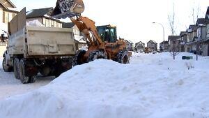 Calgary snow clearing