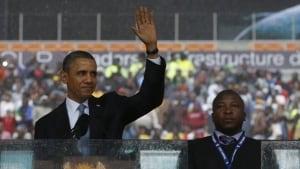 Obama, sign language