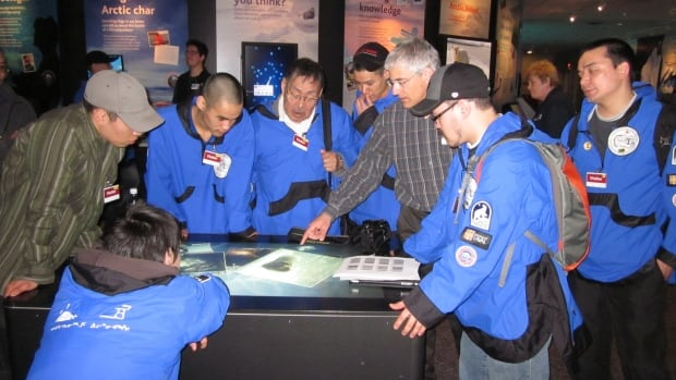 Students from the Environmental Technology Program in Pond Inlet, Nunavut, visited the Vancouver Aquarium in April, 2011. They were informing the Vancouver Aquarium about Inuit views and issues, as well as training Aquarium staff about northern issues - the kind of work that will continue thanks to a $325,000 Arctic Inspiration Prize.