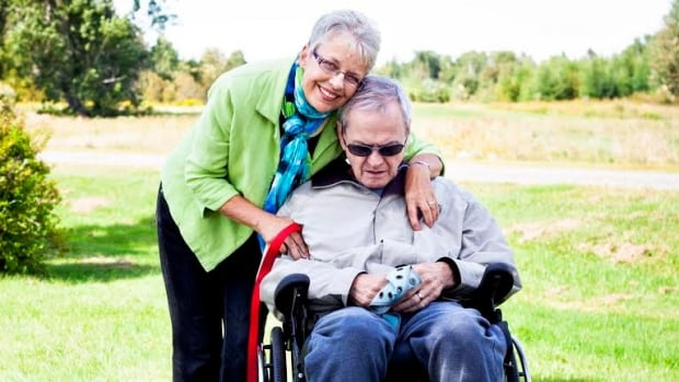 Reg Bithrey was diagnosed with Alzheimer's, the most common form of dementia, in 2007.  Eventually, the normally gentle man became aggressive, said his wife Susan, pictured at left. She soon learned the health care system didn't have the resources to cope with his condition.