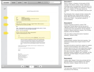 Documents screen cap