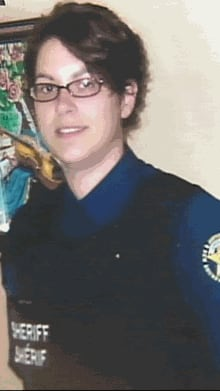 Natalie Doucet was one of the sheriffs in a van crash in April 2012