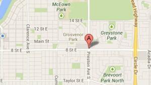 skpic gas line leak saskatoon