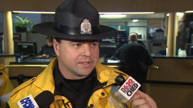 Const. Dean Schwaga said it was disconcerting to find two children in the back seat of a speeding car.