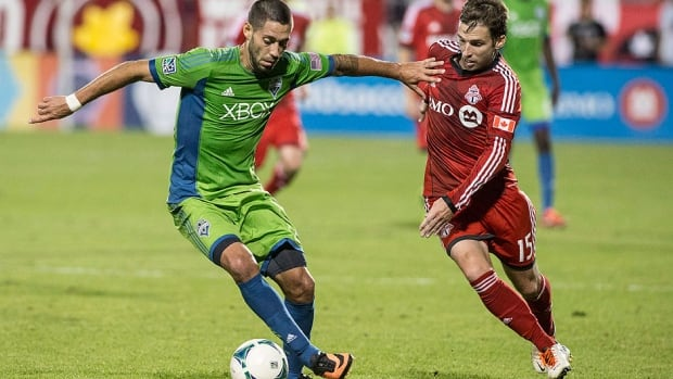 Midfielder Bobby Convey., who had his rights traded to New York on Friday, made 21 appearances for Toronto FC, scoring one goal and adding four assists after being acquired in a trade with Sporting Kansas City in May.