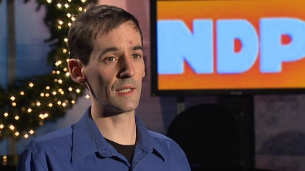 Chris Bruce has resigned as a director-at-large from the Newfoundland and Labrador NDP.