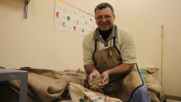 Trevis Boyd has a passion for roasting coffee.
