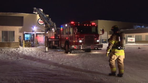Edmonton firefighters on scene of a lithium battery explosion in Mill Woods.