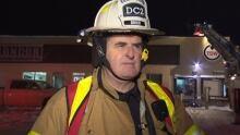 District Fire Chief Pat Grier