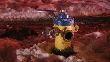 Malfunctioning fire hydrant (Dec. 14, 2013)