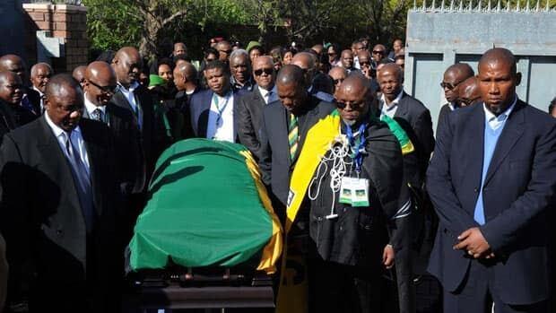 RAW: Mandela procession
