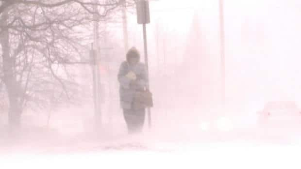 Central Canada, Maritimes hit with major storm