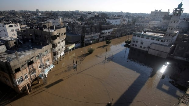 Much of Gaza has been without electricity for more than two days.