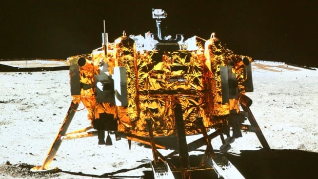 China's Chang'e-3 moon lander, above, carried the rover Yutu to the moon in 2013. Zou Yongliao from the Chinese Academy of Sciences' moon exploration department says China's next moon probe will land on the far side of the moon - somewhere no space probe has ever landed.