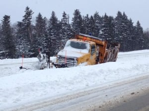 nl colleen connors snow plow off road little rapids 20131216