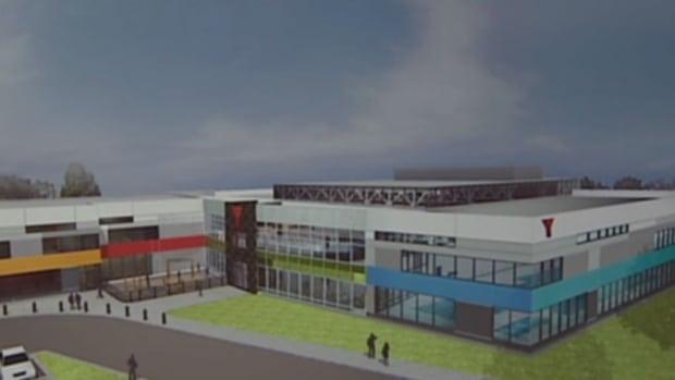 Artist's conception of new Saint John YMCA