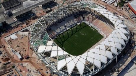 Brazil Stadium Death