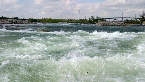 The $17-million Harvie Passage was badly damaged in the June flooding. Mayor Naheed Nenshi wants the province to rebuild it to a safer standard.