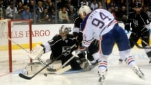 Martin Jones, Kings blank Oilers