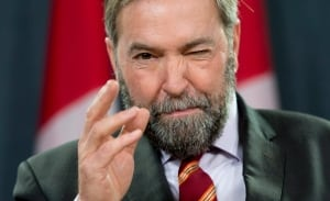 NDP Leader Tom Mulcair year end