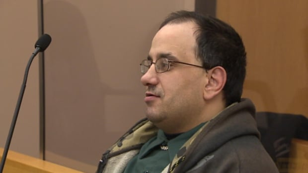 Michael Rakai of St. John's is accused of bear spraying two people, attacking one with a hatchet and assaulting their daughter.