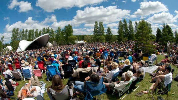 The Winnipeg Folk Festival was one of a number of Winnipeg organizations sharing in just over $1 million in funding from the federal government announced Wednesday.