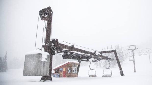 The Powder King Resort in Northern B.C.'s Pine Pass gets an average of 12.5 metres of snow each winter.