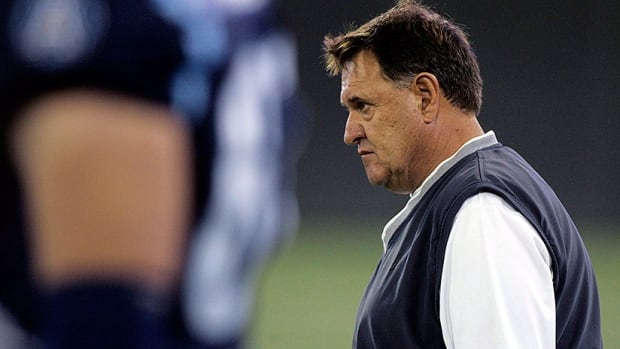 Rich Stubler, seen here with the Argonauts, has agreed to become the Stampeders' defensive coordinator. He boasts more than 25 years of CFL coaching experience with Hamilton, Edmonton, Toronto and B.C.
