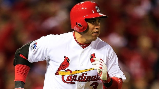 Veteran outfielder Carlos Beltran, who agreed to a three-year, $45-million US deal with the New York Yankees earlier this month, hit .296 with 24 homers and 84 RBIs for