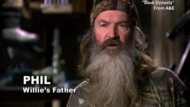 Duck Dynasty star suspended