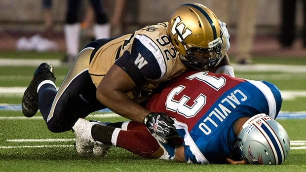 Winnipeg Blue Bombers defensive tackle Bryant Turner was tied for the team lead with seven sacks last season.
