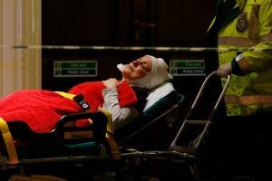 Britain Theatre Collapse