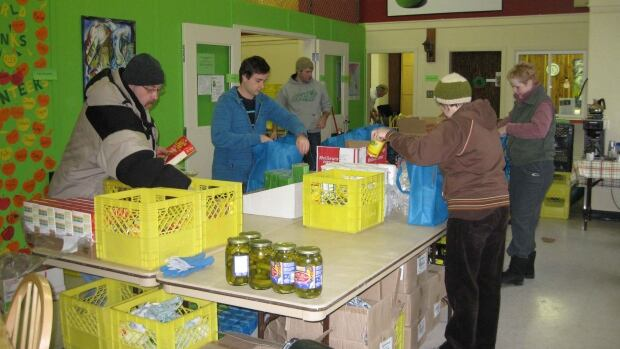 The Whitehorse Food Bank. A grant from the Yukon government will enable the organization to buy the building it currently rents.