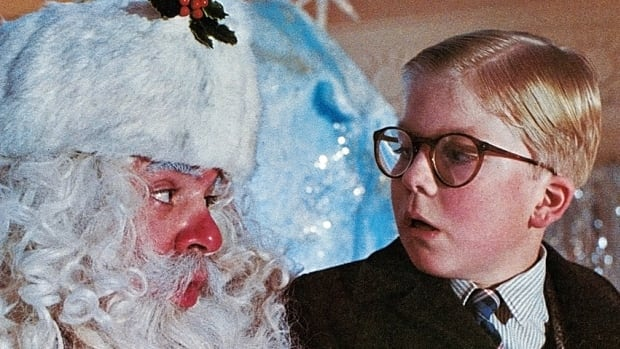 Santa Claus isn't always as ominous as the bearded gent Ralphie (Peter Billingsley) encounted in A Christmas Story.