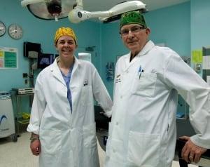 Dr. Kellie Leitch and Dr. Baxter Willis