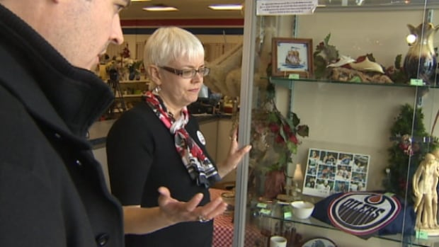 Store manager Karin Adshead said $3,000 worth of jewelry was taken - a loss that will be felt by multiple families and crisis centres in the community.