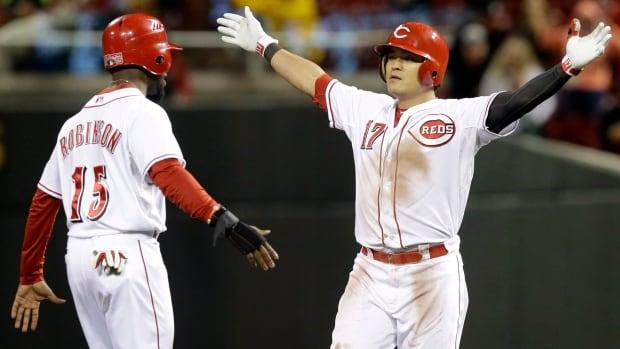 Shin-Soo Choo had 20 stolen bases and 21 home runs last season for Cincinnati.