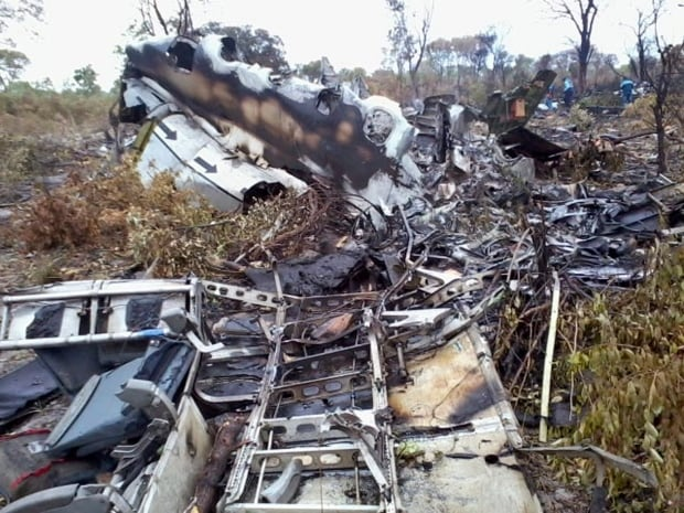 Namibia Mozambique Missing Plane