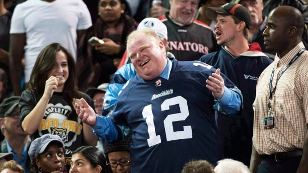 'Really no one tops Rob Ford's antics of the past year, which went from outrageous to ludicrous to pitiful,' said Adrienne Tanner, the deputy editor of the Vancouver Sun.
