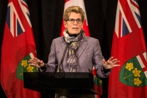 Premier Wynne talks about the ice storm