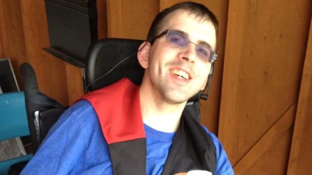 Trevor Stride, 23, has cerebral palsy, and says his family's lives are much easier now that they have their new van.