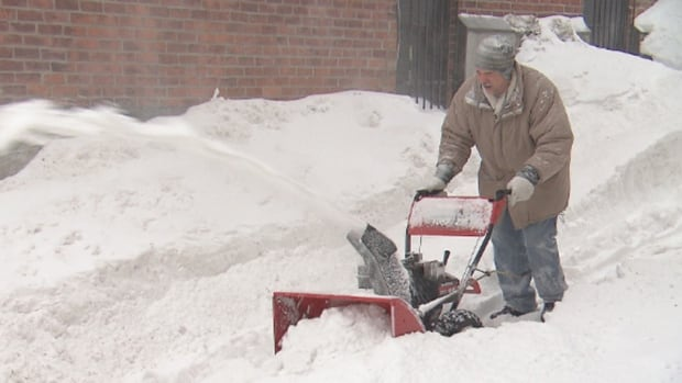 Montrealers armed with shovels and snowblowers have been out in force since Friday, clearing snow from their properties after a major storm buried the city.